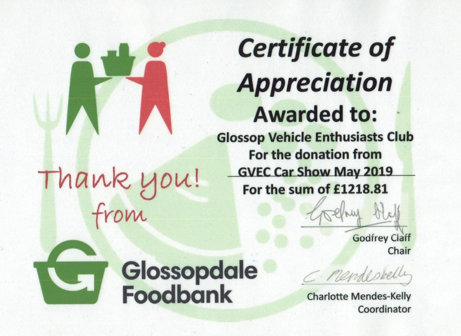 Foodbank certificate August 2019 edit