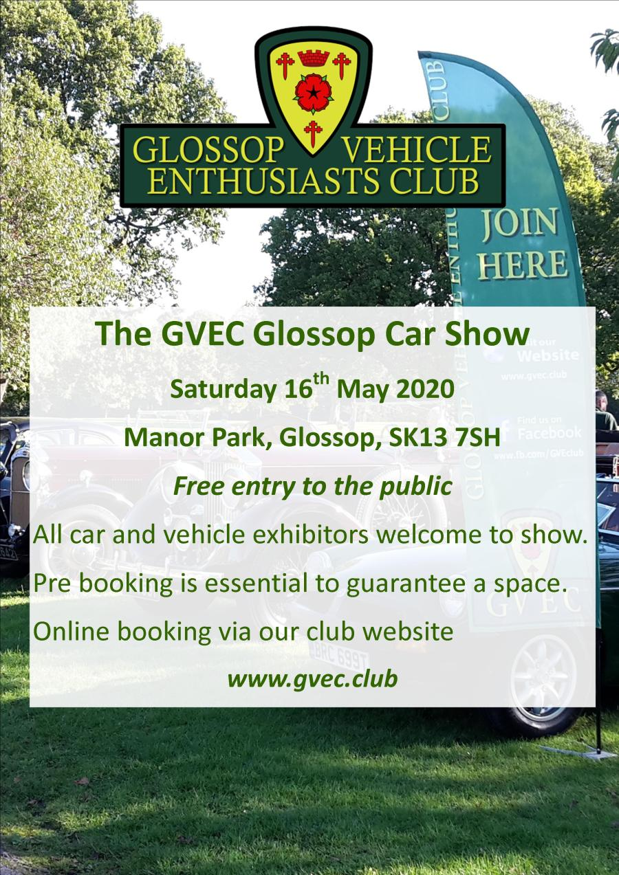 Glossop Car Show May 20120 Poster Rev 1