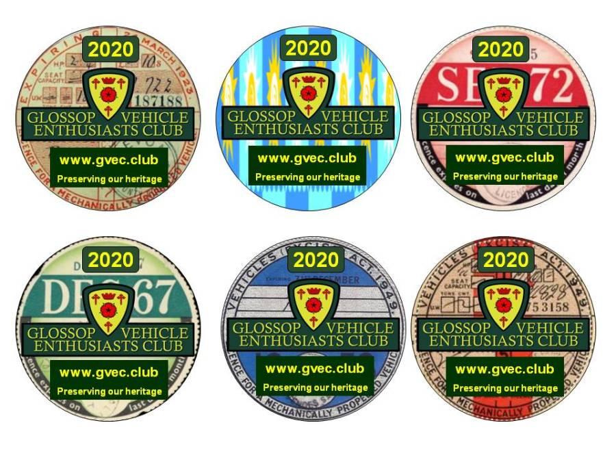 GVEC Tax Discs 2020